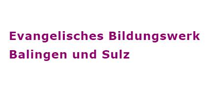 Logo Evangelisches Bildungswerk <br> Balingen und Sulz